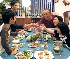 毎年、母の日には実家の両親を招いて、さりげないけど見栄えのする料理でおもてなしをしています。