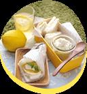 簡単&手軽☆はちみつレモンのチーズサンド